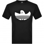 adidas Originals Shmoo Logo T Shirt Black